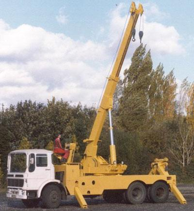 This was one of our first rotators built on an AEC Mammouth Major