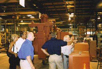 A factory visit to the Century factory in Chattanooga Tennessee in the early 90's